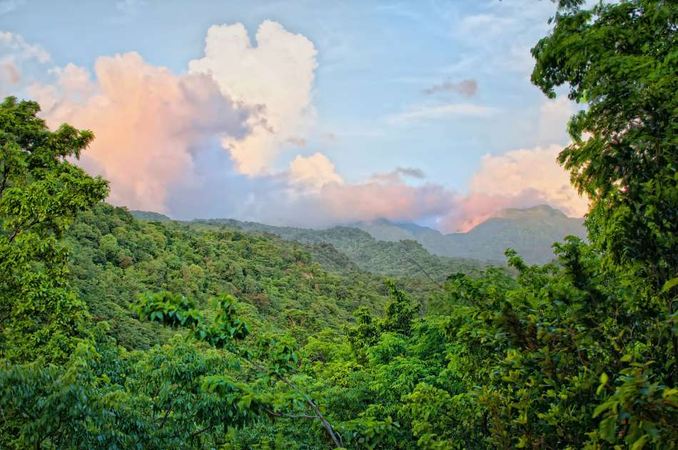 Dominica | Blick zum Morne Diablotins | © Secret Bay Resort