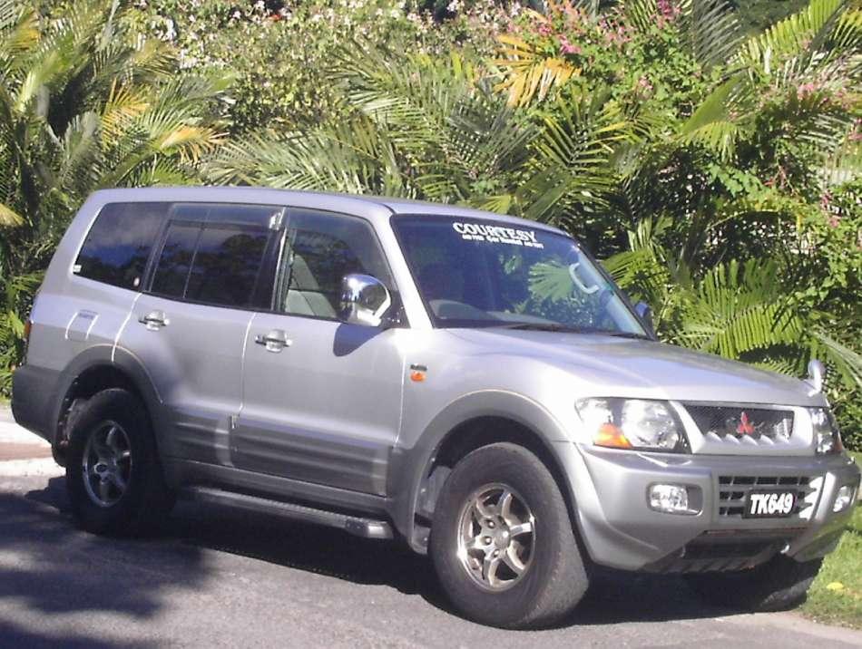 Mietwagen Dominica   Mitsubishi Pajero   © Courtesy Rental