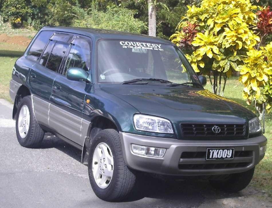 Mietwagen Dominica   Toyota RAV4   © Courtesy Rental
