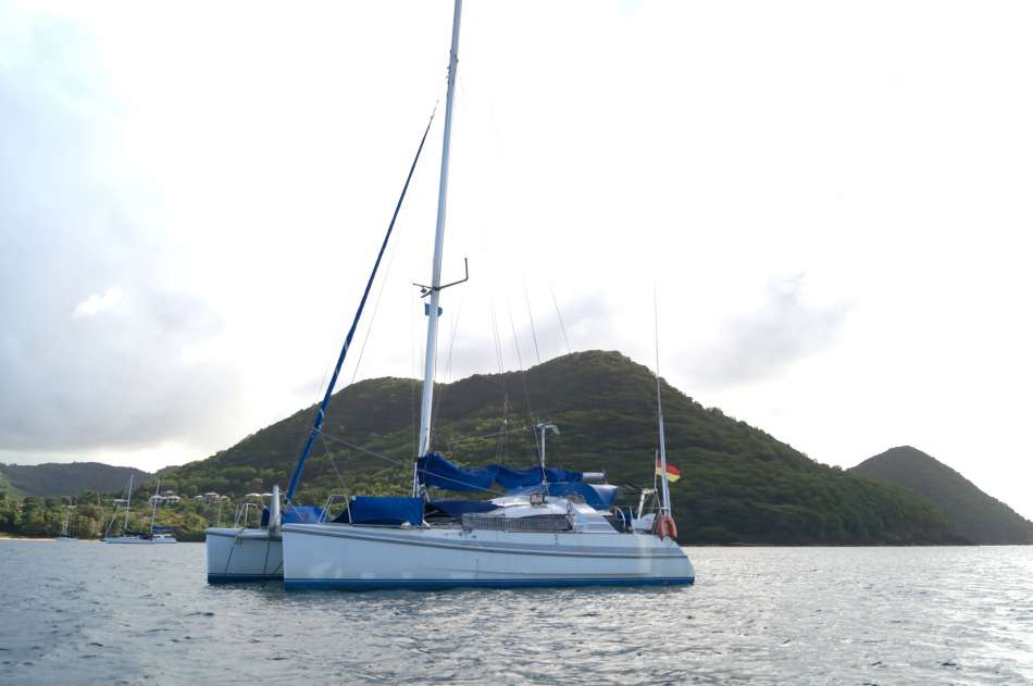 SY Sven Lena | Vor Rodney Bay | © Karibik Inside