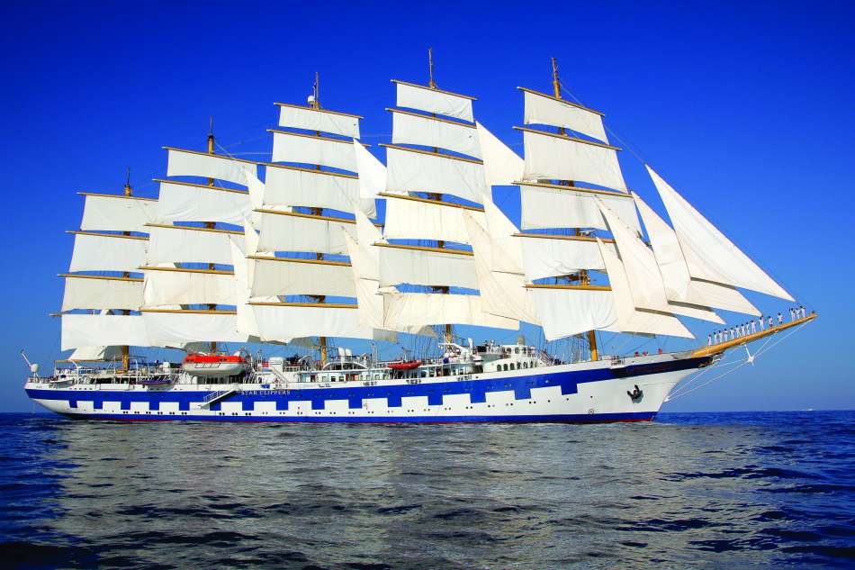 SV Royal Clipper | Unter Segeln | © Star Clippers