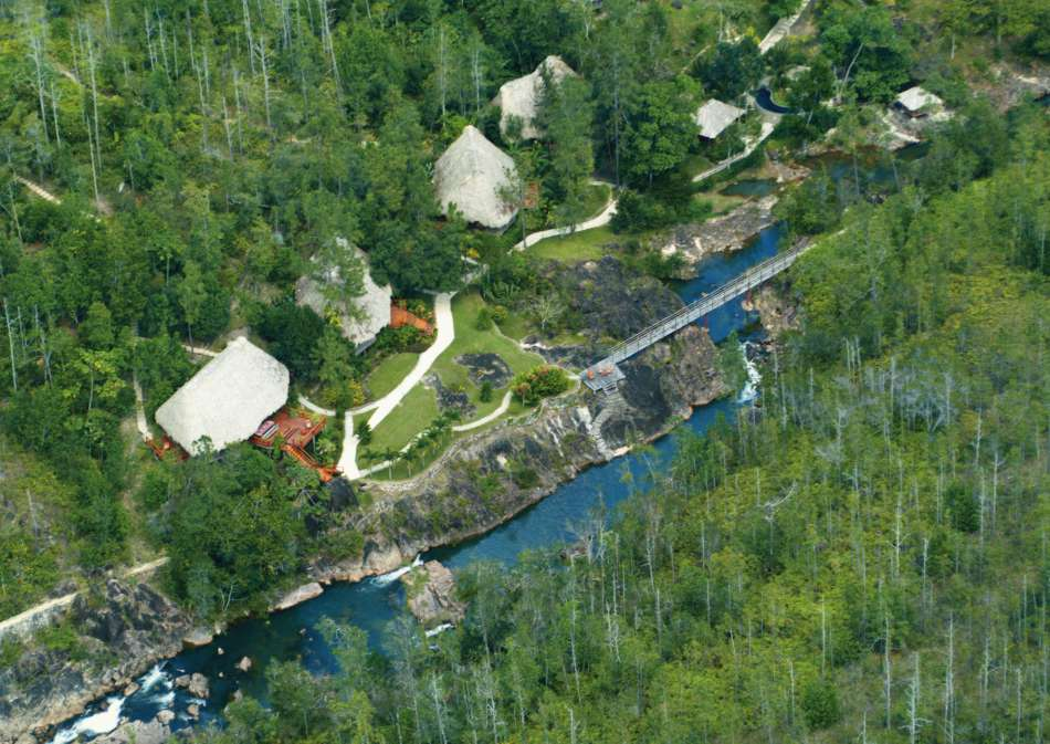 Blancaneau Lodge | Die Lodge am Rio On | © Blancaneaux Lodge