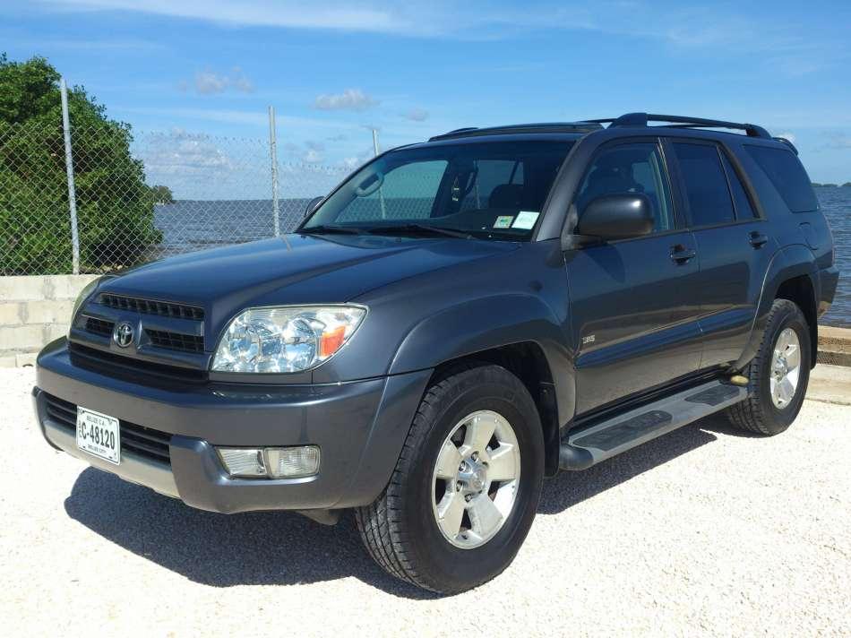 Mietwagen Belize | Toyota 4 Runner | © AQ Belize Auto Rentals 4 Less