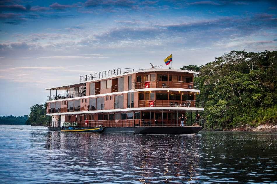 "Anakonda Amazon Cruises   MV ""Anakonda""   © Advantage Travel Ecuador"