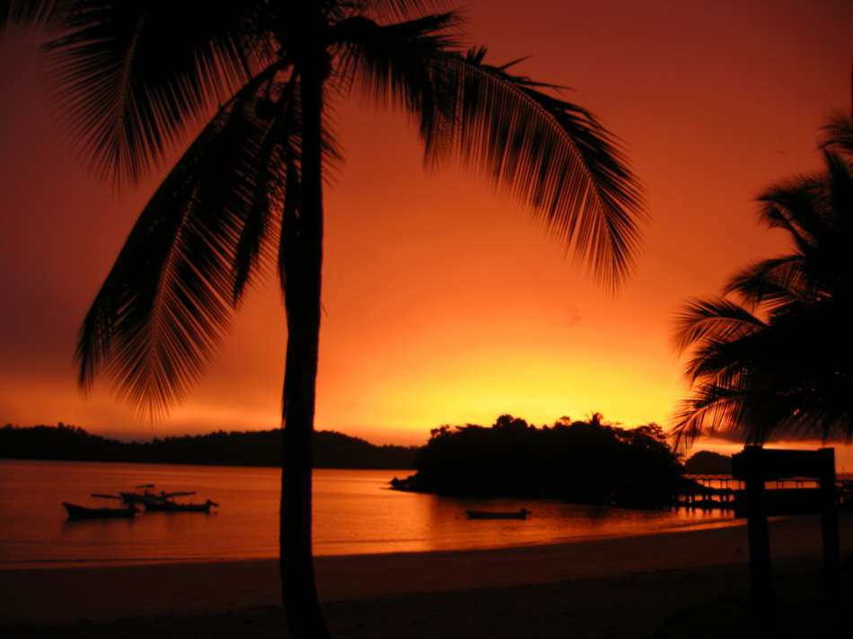 Panama | Sonnenuntergang vor der Isla de Coiba | © Coiba Dive Expeditions