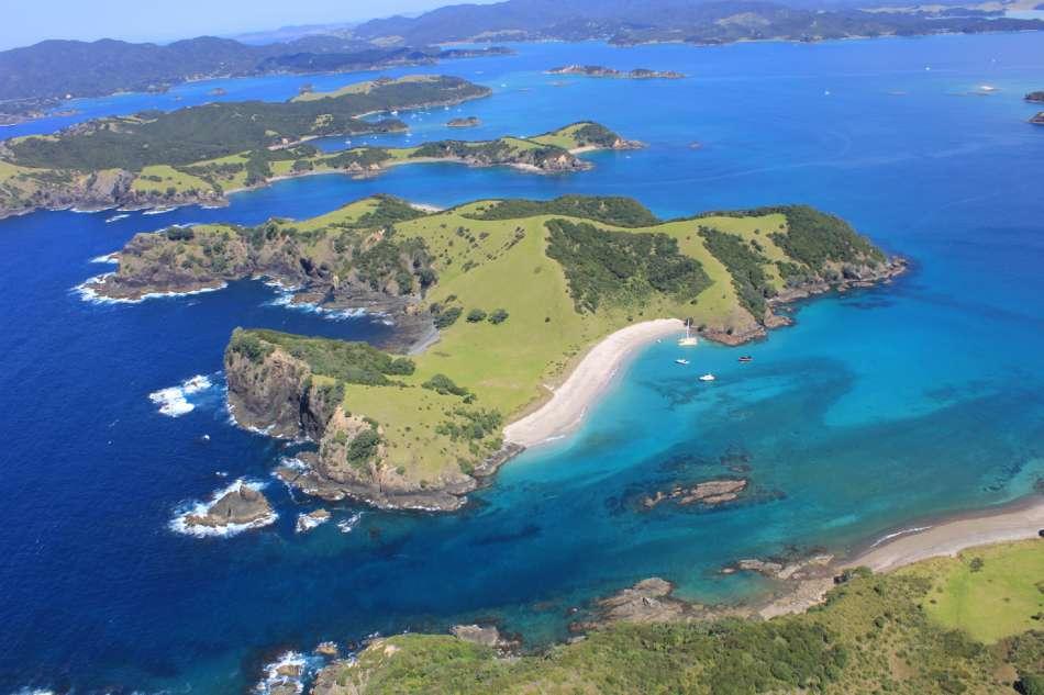 Neuseeland | Rundflug über der Bay of Islands | © Island Escape