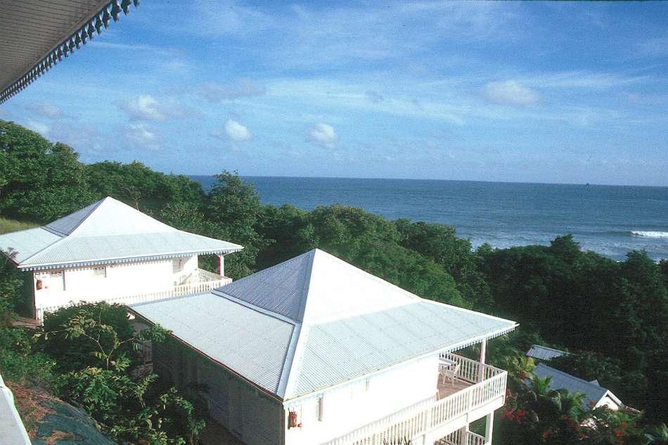 Residence Ocean   Blick über die Bungalow-Anlage   © Karibik Inside