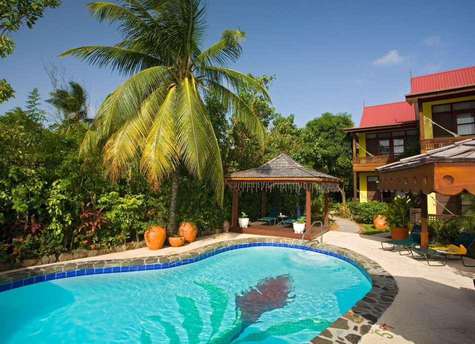 Ginger Lilly | Pool im Hotelgarten | © Ti Hotels 2016