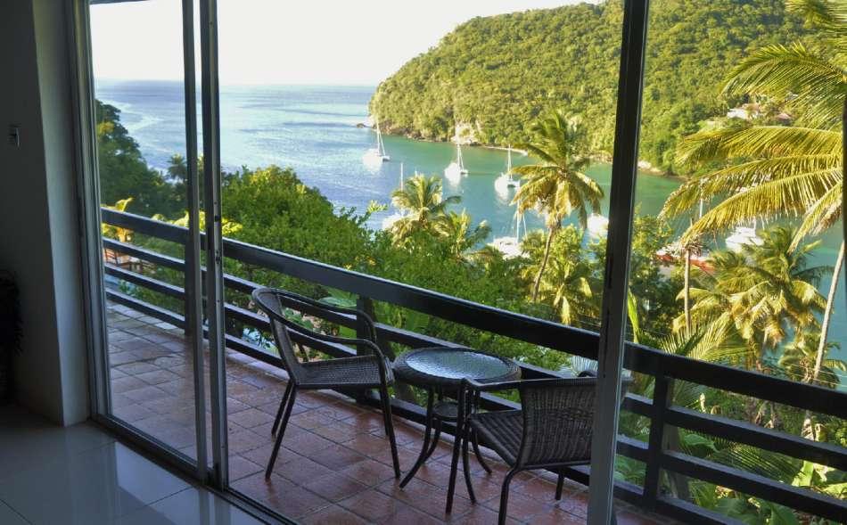Marigot Palms | Balkon der Windsor Suite | © Ti Hotels 2016